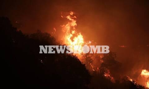 Φωτιά στη Βαρυμπόμπη: Χωρίς νερό και ρεύμα περιοχές της Αττικής - Πού εντοπίζονται προβλήματα