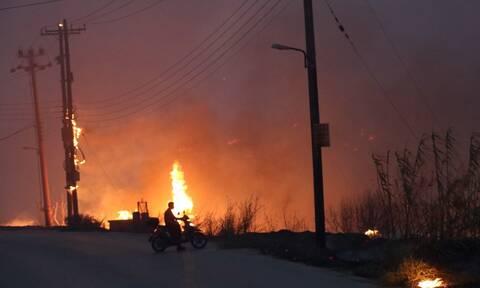 Φωτιά στη Βαρυμπόμπη: Νέες κυκλοφοριακές ρυθμίσεις