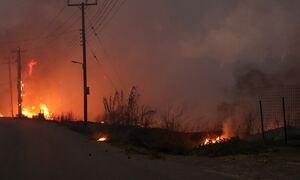 Φωτιά στη Βαρυμπόμπη: Σε κυκλοφορία το τμήμα Λυκόβρυση - Άγιος Στέφανος στο ρεύμα προς Αθήνα