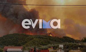 Φωτιά στην Εύβοια: Τεράστια καταστροφή - Η πυρκαγιά καίει ανεξέλεγκτα