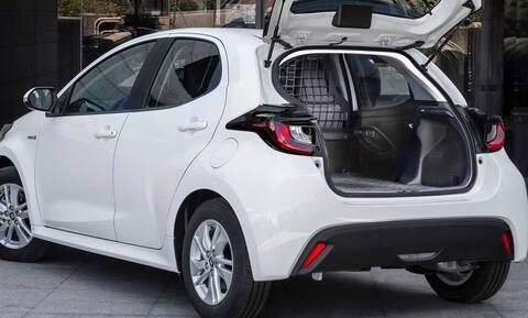 Το Toyota Yaris τώρα και ως ελαφρύ επαγγελματικό van
