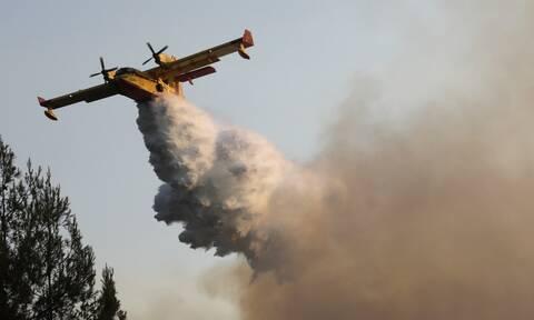 Μάχη για την κατάσβεση των πυρκαγιών που μαίνονται σε όλη την επικράτεια