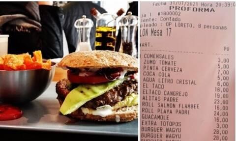 Ξόδεψε 4.000 σε εστιατόριο, αλλά ενοχλήθηκε όταν του ζήτησαν να αφήσει φιλοδώρημα (pics)