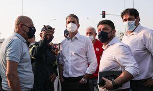 Φωτιά στη Βαρυμπόμπη: Έκτακτη ενημέρωση Χαρδαλιά