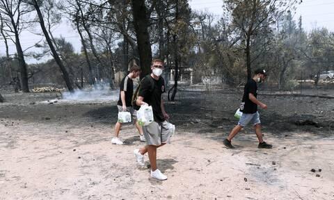 Φωτιά στη Βαρυμπόμπη: Ιατρικός Σύλλογος Αθηνών - Οδηγός προστασίας των πολιτών