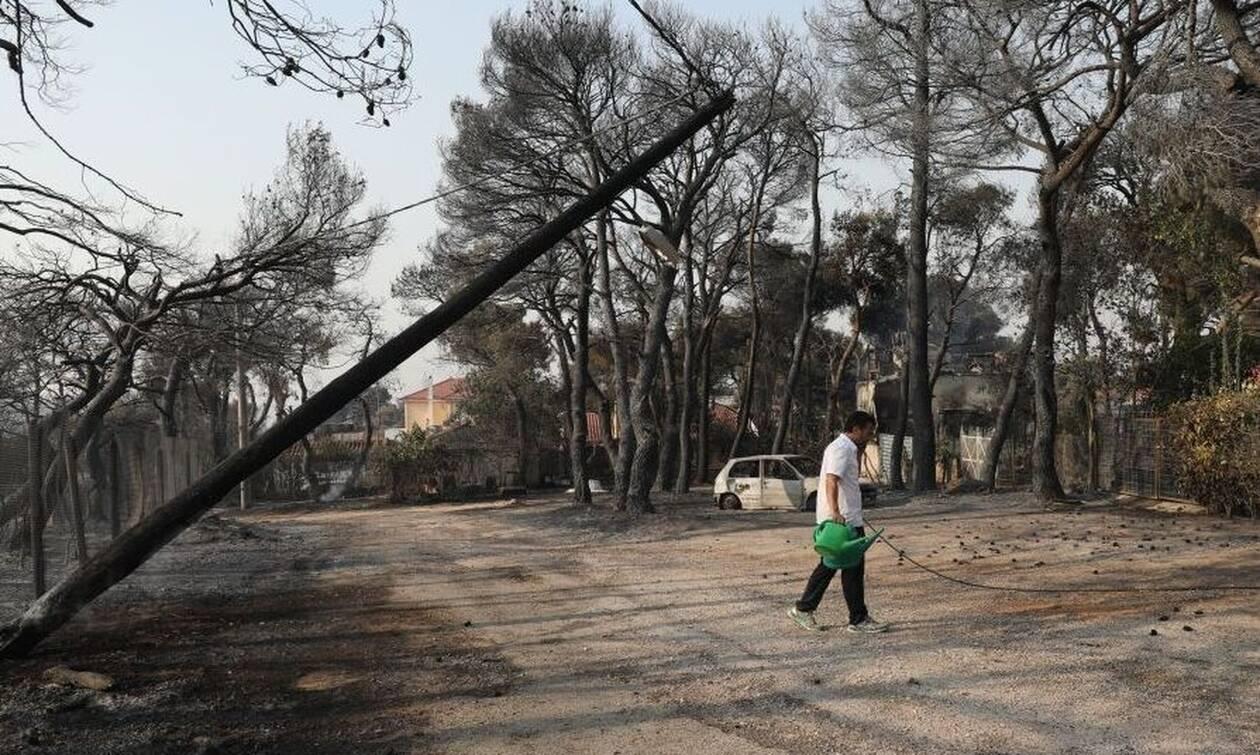 Πυρκαγιές στη Βαρυμπόμπη: Πού εντοπίζονται προβλήματα ηλεκτροδότησης λόγω βλάβης στο δίκτυο