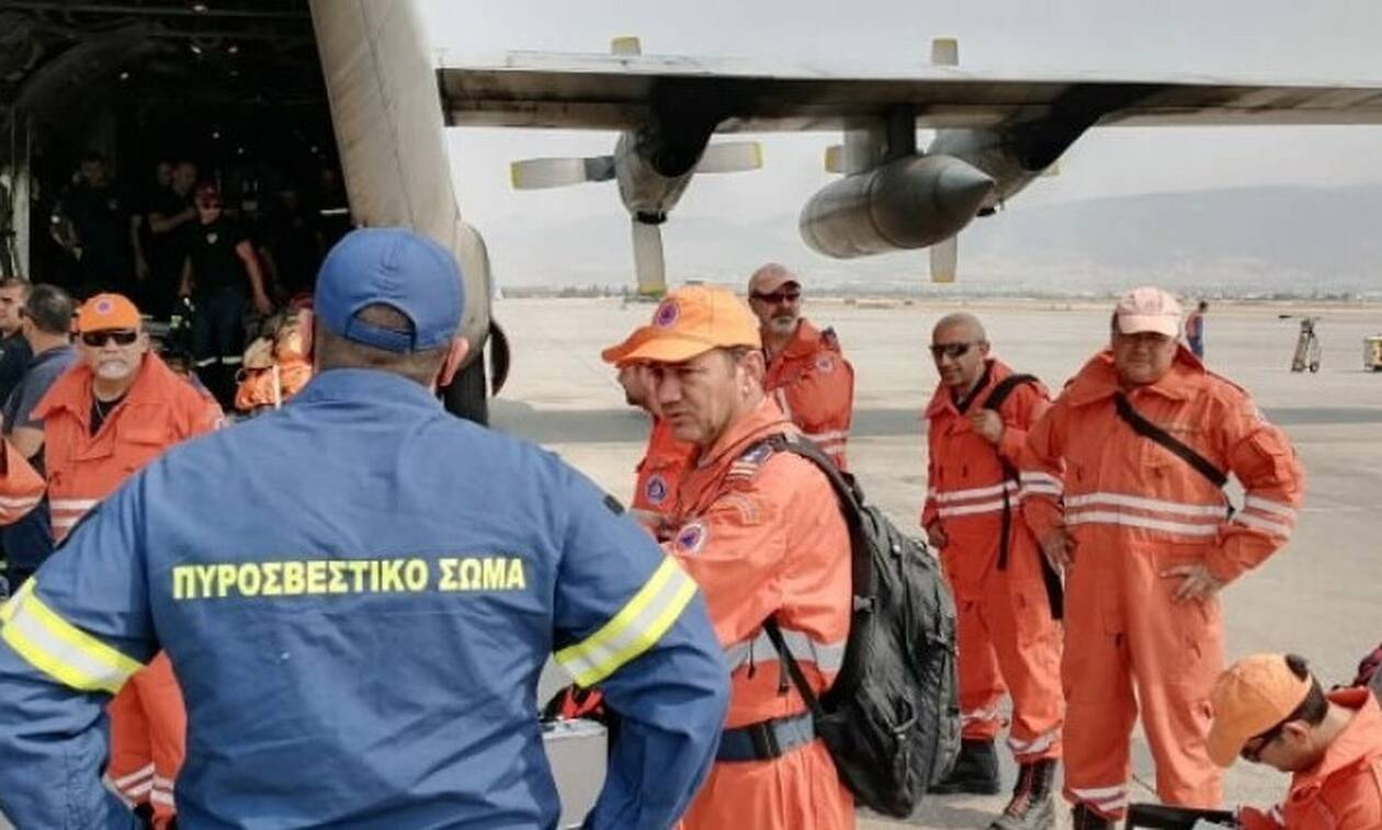 Φωτιά - Βαρυμπόμπη: Kυπριακή αποστολή  επιχειρεί στην Ελλάδα