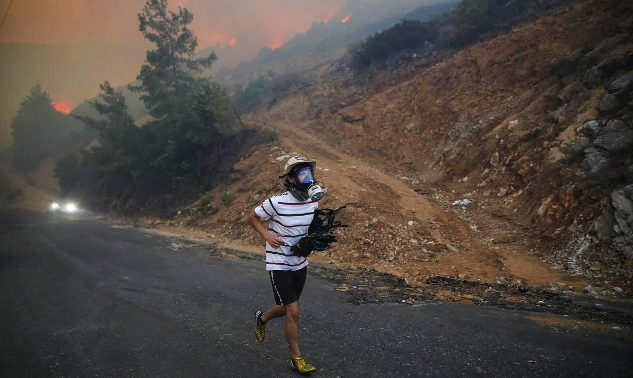 Τουρκία: Υπό έλεγχο η πυρκαγιά κοντά σε θερμοηλεκτρικό σταθμό - Κόλαση φωτιάς για όγδοη ημέρα