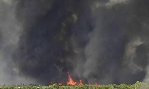 Φωτιά στη Βαρυμπόμπη: Κυκλοφοριακές ρυθμίσεις - Δείτε ποιοί δρόμοι είναι κλειστοί αυτή την ώρα