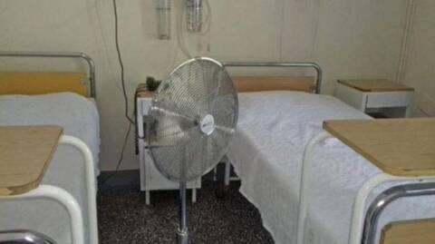Ελλαδάρα 2021 μ.Χ: Ασθενείς φέρνουν ανεμιστήρες από το σπίτι τους!