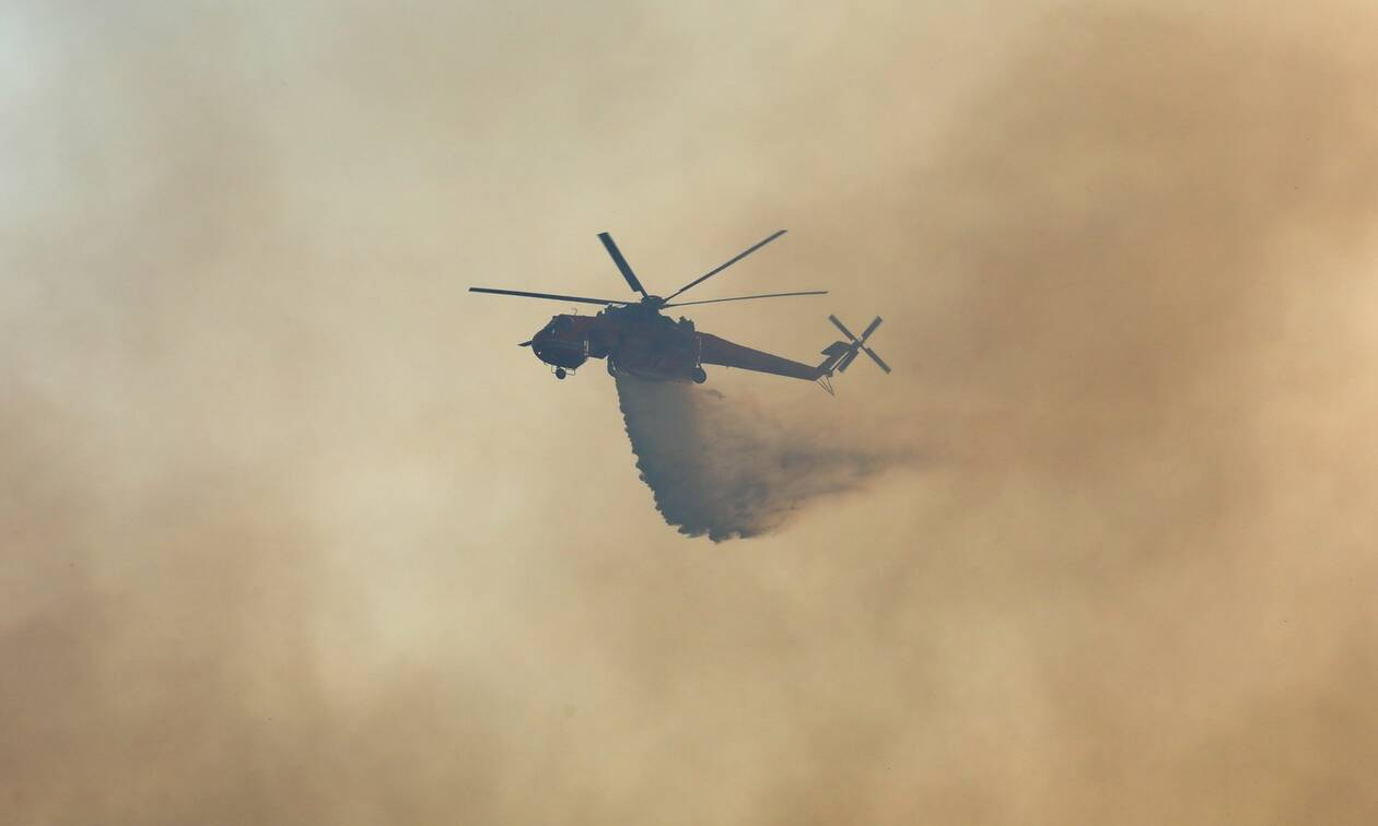Φωτιά ΤΩΡΑ στη Χαλκιδική