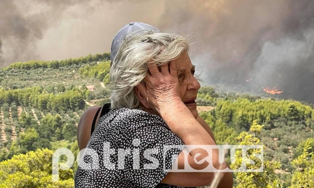 Φωτιά ΤΩΡΑ: Μάχη με τις φλόγες στην Αρχαία Ολυμπία - Εκκενώνονται προληπτικά άλλες τρεις κοινότητες
