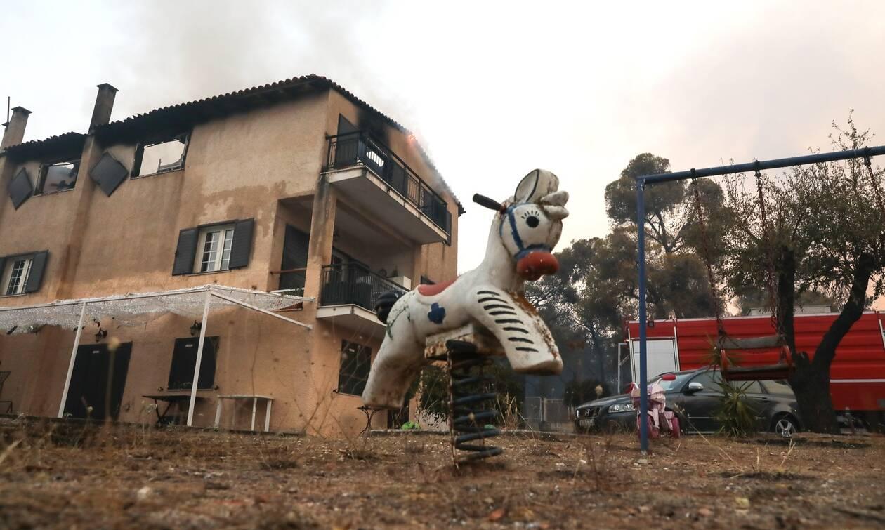 Φωτιά στη Βαρυμπόμπη: Αύριο η σύσκεψη για τα μέτρα στήριξης των πληγέντων
