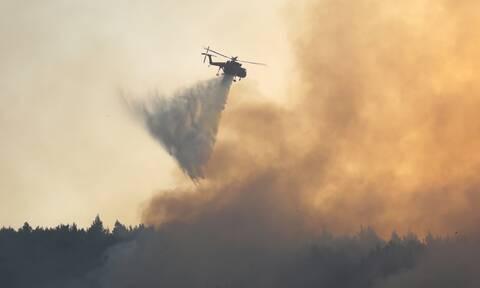 Μεγάλη φωτιά στη Μεσσηνία: Εκκενώνονται χωριά – Απειλείται το Διαβολίτσι