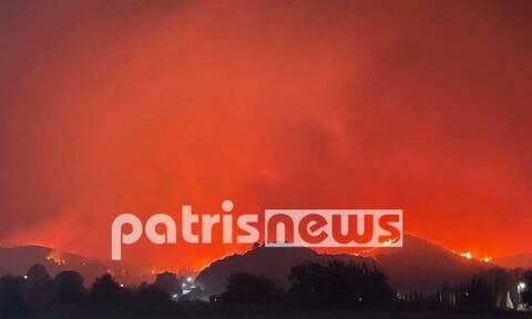 Δήμαρχος Πύργου στο Newsbomb.gr για φωτιά Αρχαίας Ολυμπίας: «Ο Θεός βοηθός» -1 χλμ. μακριά οι φλόγες
