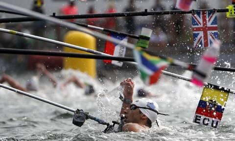 Ολυμπιακοί Αγώνες 2020 - Μαραθώνια Κολύμβηση: Μεγάλη εμφάνιση και πέμπτη θέση για τον Άλκη Κυνηγάκη