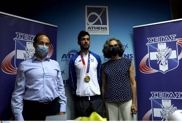 Στην Ελλάδα ο χρυσός Ολυμπιονίκης Μίλτος Τεντόγλου