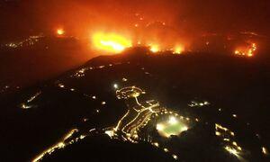Φωτιές στην Ελλάδα: Νύχτα κόλασης σε Αρχαία Ολυμπία, Εύβοια και Μεσσηνία- Μάχες με τις αναζωπυρώσεις