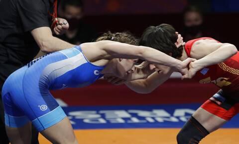 Ολυμπιακοί Αγώνες 2020 - Πάλη: Έχασε η Πρεβολαράκη - Περιμένει μια δεύτερη ευκαιρία στα ρεπεσάζ