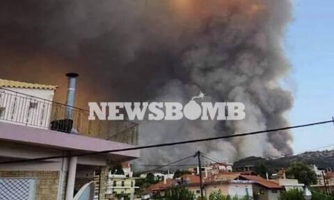 Φωτιά στην Εύβοια: Συγκλονιστική μαρτυρία - «Δεν λάβαμε μήνυμα από την Πολιτική Προστασία»