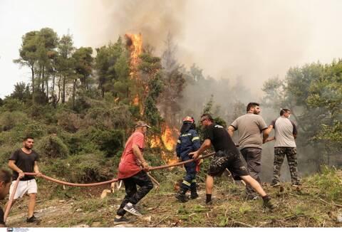 Η φωτιά στις Κεχριές