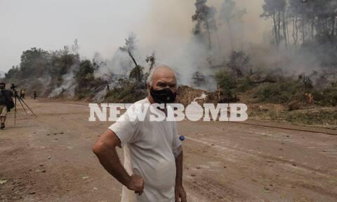 Φωτιά στην Εύβοια: Οδοιπορικό του Newsbomb.gr στις Κεχριές - Η πυρκαγιά έκαψε τα πάντα