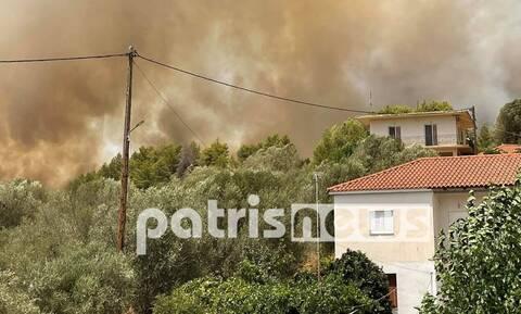 Φωτιά Αρχαία Ολυμπία: Μέρες 2007! Εκκενώθηκαν 19 χωριά και παιδικές κατασκηνώσεις στη Φρίξα