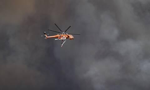 Φωτιά ΤΩΡΑ στη Ρόδο: Νέα αναζωπύρωση στην περιοχή Καλαμώνας