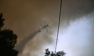 Φωτιά στα Γρεβενά: Δύσκολη η κατάσταση - Εκκενώνονται τέσσερις οικισμοί