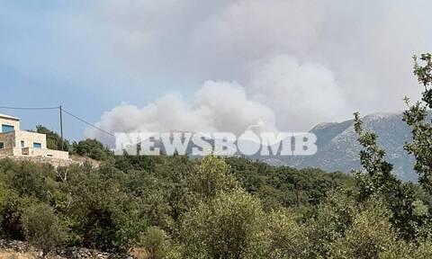 Φωτιά στη Μεσσηνία: Καίγεται το Καρνάσι – Ανεξέλεγκτο το πύρινο μέτωπο