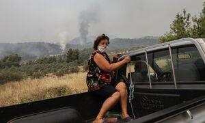 Φωτιά στην Εύβοια: Νέο μήνυμα του 112 - Εκκενώνονται τέσσερα χωριά
