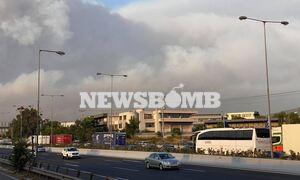 Φωτιά ΤΩΡΑ: Εκκενώνεται και η Ιπποκράτειος Πολιτεία - Έκλεισε η Εθνική Οδός Αθηνών - Λαμίας