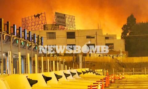 Φωτιά στην Αττική: Πέντε τραυματίες σε Δροσοπηγή και Κρυονέρι