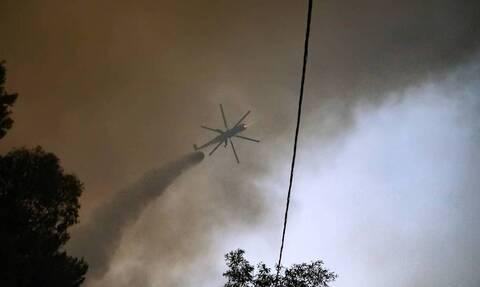 Φωτιά στα Γρεβενά: Δύσκολη η κατάσταση - Εκκενώνονται έξι οικισμοί