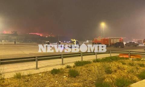 Φωτιά Κρυονέρι: Εθελοντής πυροσβέστης έπεσε σε πηγάδι - Μεταφέρθηκε στο νοσοκομείο