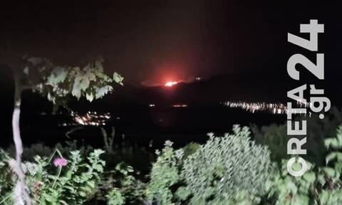 Φωτιά ΤΩΡΑ: Συναγερμός και στην Κρήτη - Πυρκαγιά στο Καστέλλι Φουρνής στο Λασίθι