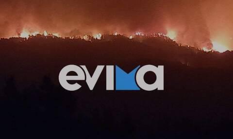 Φωτιά Εύβοια: Εκκενώθηκε και η Στροφυλιά - Εφιαλτική νύχτα