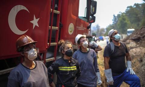 Τουρκία: «Πίσω από τις φωτιές βρίσκεται η Ελλάδα» - Νέο παραλήρημα από σύμβουλο του Ερντογάν