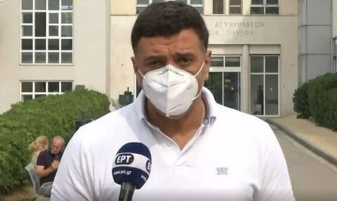 Κικίλιας: 9 με τραύματα και αναπνευστικά προβλήματα από τη φωτιά στην Αττική, 11 στην Εύβοια