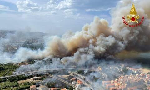 Ιταλία: Νέα πυρκαγιά στην Σικελία - Αποτέλεσμα εμπρησμών οι περισσότερες φωτιές στη χώρα