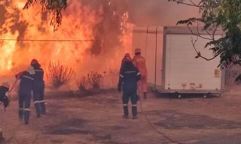 Φωτιά ΤΩΡΑ στη Μάνη: Εντολή εκκένωσης και για το Γύθειο - Από τη Σκάλα Λακωνίας η μετακίνηση