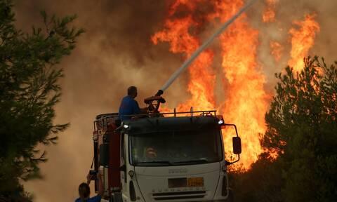 Φωτιά Μαλακάσα: Εισήγηση για εκκένωση 5 περιοχών