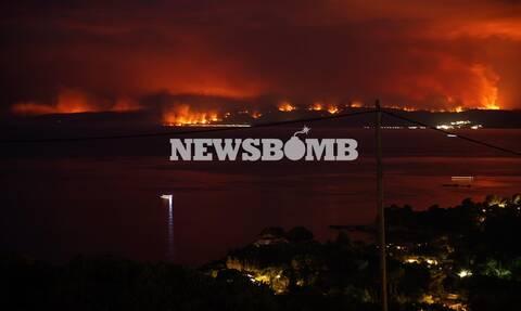 Φωτιά Εύβοια: «Σβήστηκαν απ' το χάρτη» Λίμνη, Ροβιές, Μουρτιά, Κεχριές –Στάχτη, πόνος και καταστροφή