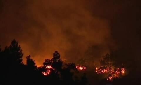Φωτιά ΤΩΡΑ: Μαίνεται για τέταρτη μέρα το πύρινο μέτωπο στα Γρεβενά