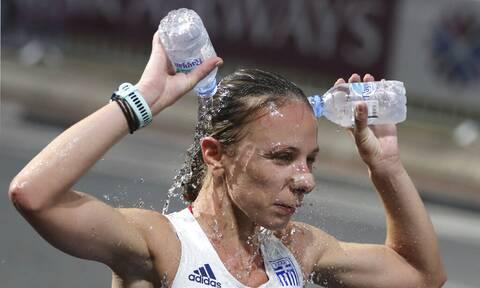 Ολυμπιακοί Αγώνες: Η Ντρισμπιώτη για τις φωτιές: «Θα ήθελα να είμαι εκεί να βοηθήσω» (photo)