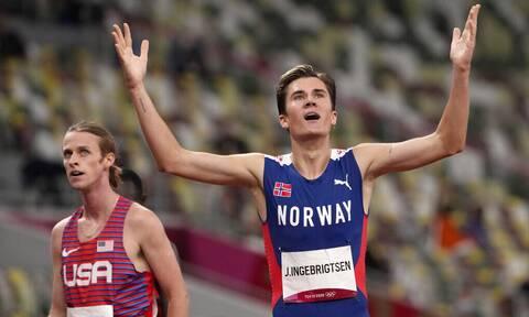 Ολυμπιακοί Αγώνες: «Πετούσε» ο εκπληκτικός Ινγκεμπρίγκτσεν! Χρυσό μετάλλιο με Ολυμπιακό ρεκόρ