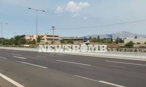 Φωτιά ΤΩΡΑ: Άνοιξε η Εθνική Οδός Αθηνών - Λαμίας - Κανονικά η κυκλοφορία και στα δυο ρεύματα