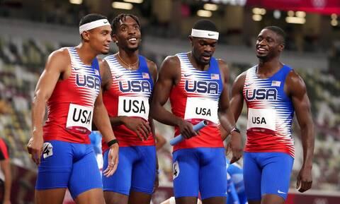 Ολυμπιακοί Αγώνες: Κυριάρχησαν στις σκυταλοδρομίες οι ΗΠΑ! - Χρυσό στα 4Χ400 σε άντρες και γυναίκες
