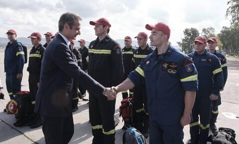 Κυριάκος Μητσοτάκης: Μεταβαίνει στη βάση των Καναντέρ στην Ελευσίνα ο πρωθυπουργός