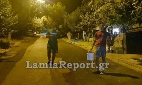 Φθιώτιδα: Απόπειρα εμπρησμού στο κέντρο της Λαμίας (vid)